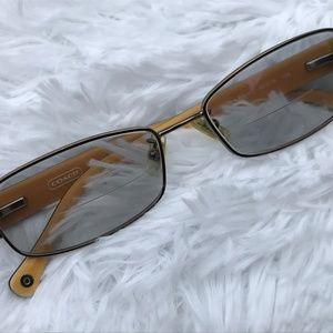 Coach Ladies Eyeglasses Frame Plastic Metal Frame